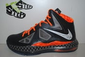 "Image of Nike LeBron X ""Black History Month"" (GS)"