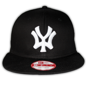 Image of 'WY' New Era Snapback - Black/White