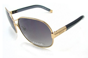 Image of Chloe CL 2208 Sunglasses CL2208 Gold Grey C01 Shades