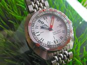 Image of VINTAGE DOXA SEARAMBLER SUB 1200T DIVER STEEL - SOLD!!