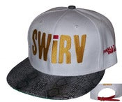 "Image of The ""Finally Infamous"" 2.0 (Big Sean) White Snakeskin w/Leather Strap Back Hat by Joe Rocken"