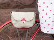 Image of Bicycle Purse-White