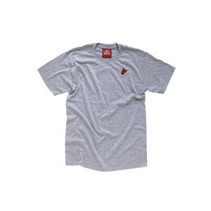 Image of The Ash Grey Red Cup Tee