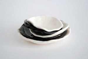 Image of Black stack dishes