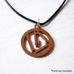 Image of Water Wave Swirl Pendant