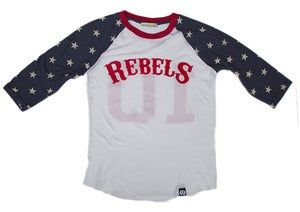 Image of Freedom Rebels Baseball Tee