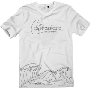 Image of Califuckinfornia wave T-Shirt  (UNISEX)