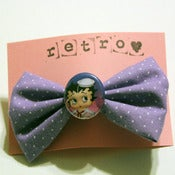 Image of Lavender Betty Boop Bow (small)