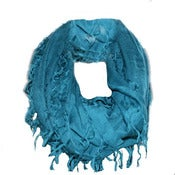 Image of Teal snood scarf