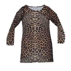 Image of Leopard Bodycon Dress