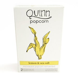 Image of Lemon &amp; Sea Salt Microwave Popcorn by Quinn