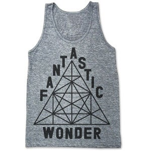 Image of RE-RELEASE! FANTASTIC WONDER (UNISEX TANK)
