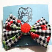 Image of Rockabilly Cherry Bow (large)