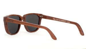 Limited Edition 1,000 Year Old Handmade Reclaimed Redwood Sunglasses by Capital Eyewear
