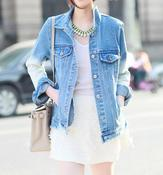 Image of Envy Gradient Denim Jacket