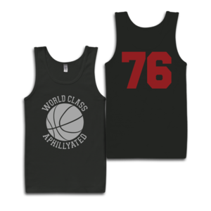 Image of World Class Basketball Tank-Top (Black)