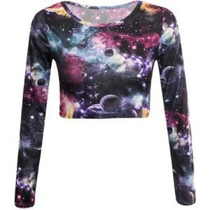 Image of Crop Top (Galaxy)