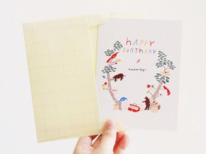 Image of Happy Birthday Forest Cards(Set of 2)