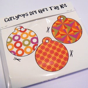 Image of DIY Gift Tag Kit (Six tags per kit)