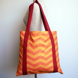 Image of Tote Bag - Spicy Citrus (free shipping)