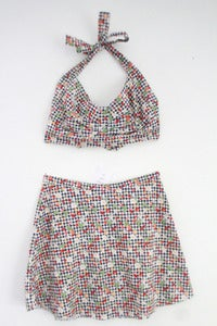 Image of Picnic Party Gingham Print Twin Set