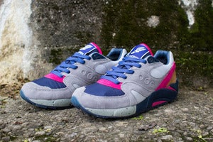 Image of Saucony Elite x Bodega - G9 Control (grey/blue)
