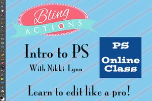 Image of Online Photoshop Training 19.99 (pre-recorded class)