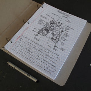 Image of Notebook Paper (Pack of 150 sheets)