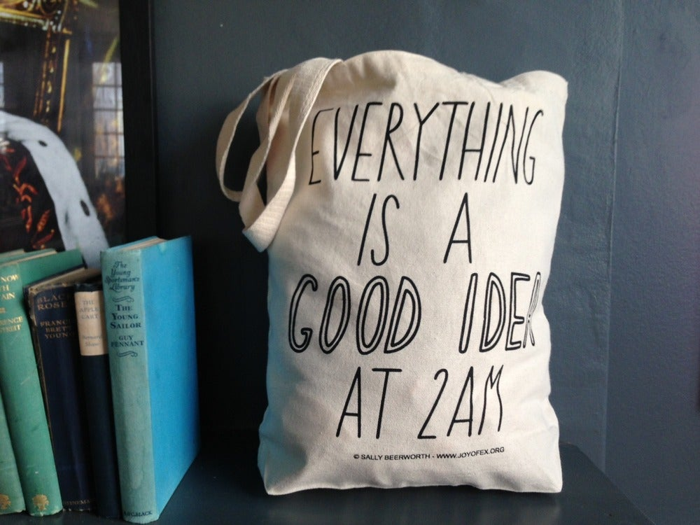 Image of Good Idea at 2am Tote Bag