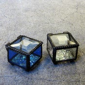 Image of glass ring box