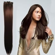 "Image of 30"" MYLUXURY1ST 8 Pieces Remy Clip in Hair Extensions 120 grams"