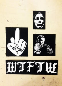 Image of W T F T W patch set