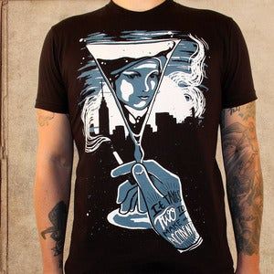 Image of the Great Gatsby - discharge ink - unisex