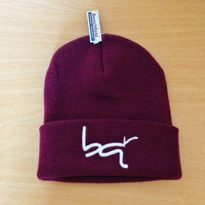 Image of BQR Beanie - Burgandy
