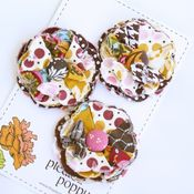 Image of set of 3 posy pins - 844