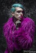 Image of Jeffree Star - Pink and Black Limited Edition Metallic 8x12 1/20