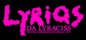 Image of Lyriqs da Lyraciss Button (Pink Logo)
