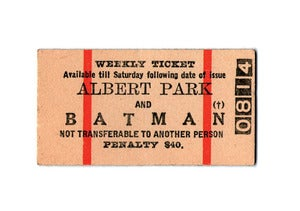 Image of Albert Park Greeting Card &amp; Envelope