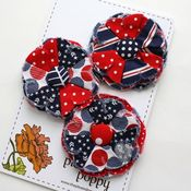 Image of patriotic posy pins - 3