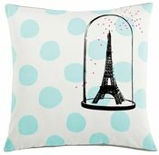 Image of La Cerise Sur Le Gateau 'Eiffel Tower' Cushion Cover