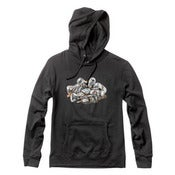 Image of HUF x DIAMOND - DIAMOND IN THE HUF HOODIE (BLACK)