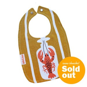 "Image of ""Lobster"" Traditional Bib"
