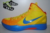 "Image of Nike Zoom Hyperdunk 2011 ""OKC Thunder"" Geometric Pack"