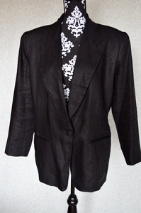 Image of Vintage Linen Blazer
