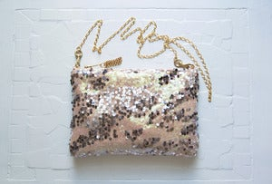 Image of MERMAID Sequin Shoulder Purse
