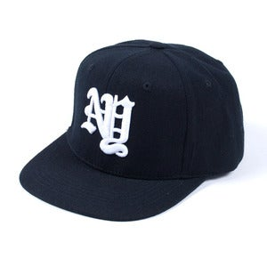 Image of New York OE Snapback Cap (Black)