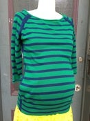 Image of Fragile Bicolor Striped Sweater