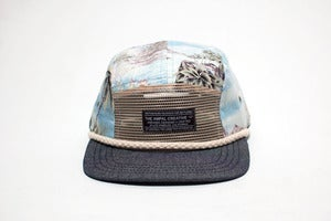 Image of SEVEN SEAS III Camp Hat - Blue