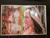 Image of Signed personalized Anuhea Poster 1