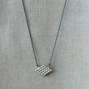 Image of diamond necklace - silver
